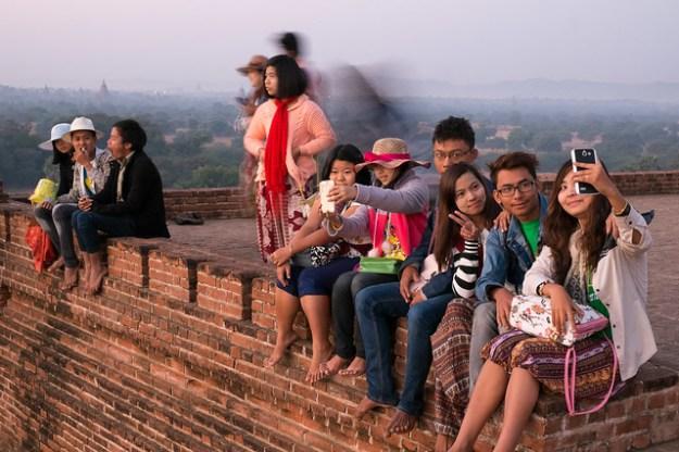 I'd rather take a selfie. Bagan