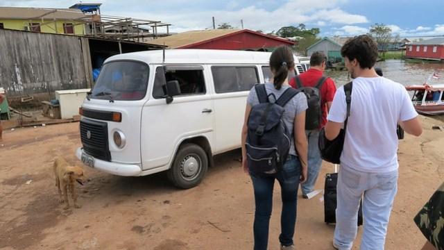 shuttle transfer to amazon tupana lodge