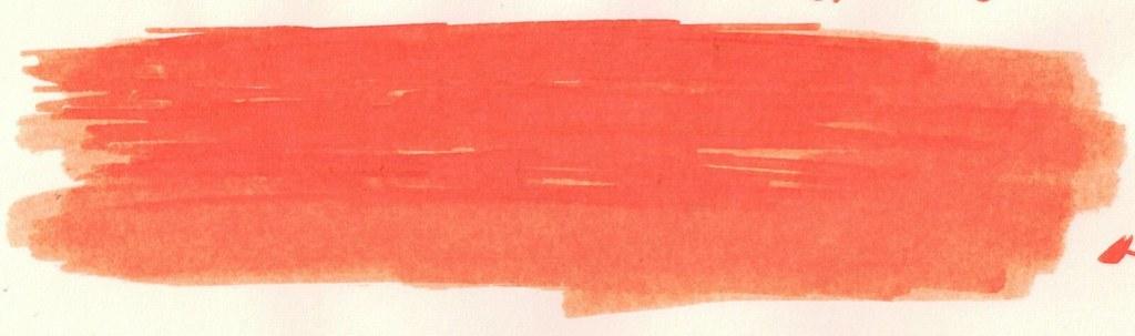 Pelikan Edelstein Mandarin (orange ink)
