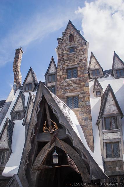 Three Broomsticks Harry Potter World Universal Studios Orlando