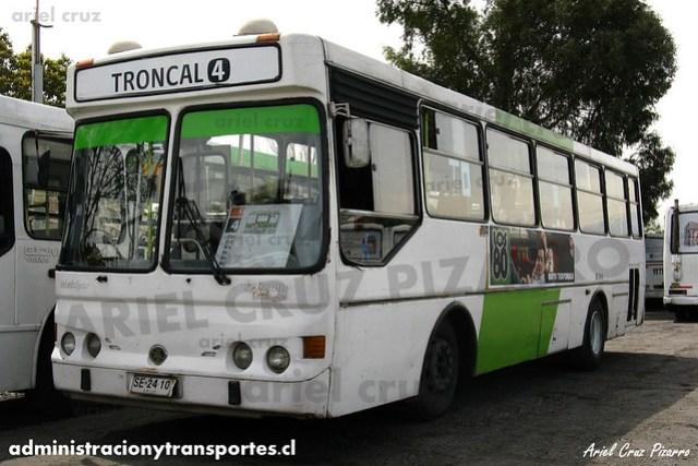 Transantiago (406e) - Terminal La Estrella - Metalpar Petrohué 2000 / Mercedes Benz (SE2410)