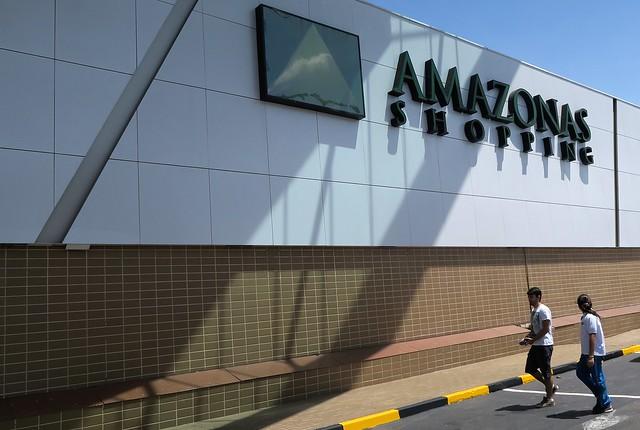 amazonas shopping center outside