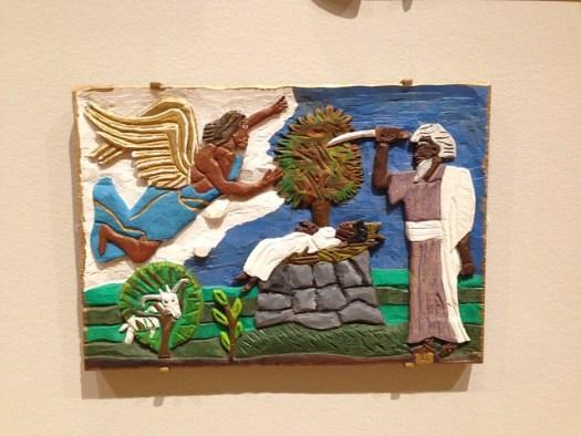Leroy Almon, Sacrifice of Isaac, High Museum, Atlanta GA