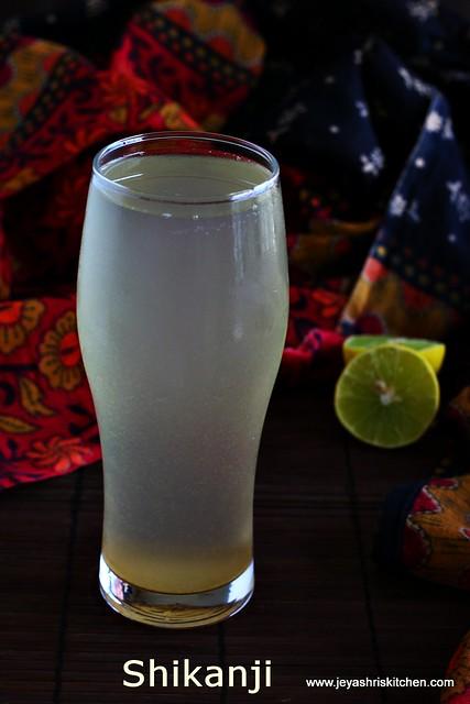 shikanji- lemonade