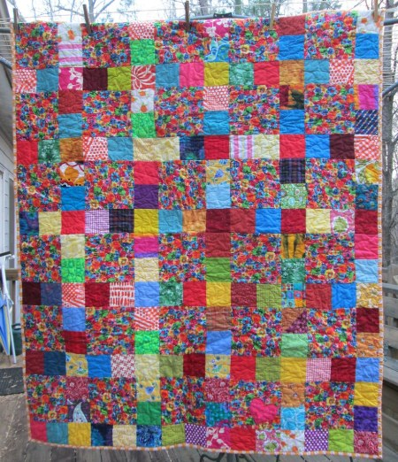 Flower Power Donation Quilt