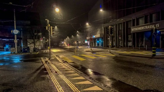 Klusplatz at Night
