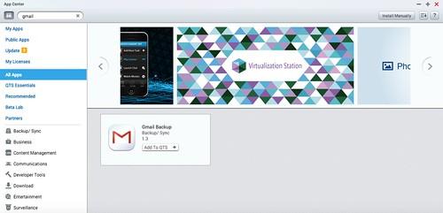 ดาวน์โหลดแอป Gmail Backup มาจาก App Store