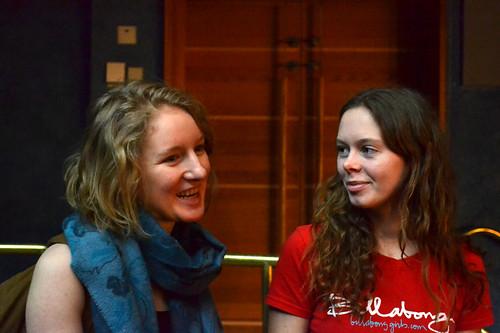 Stina Sandberg och Clara Turdén