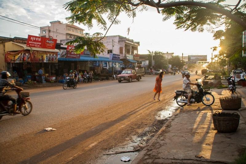 Kampot Straße