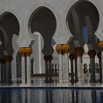Viajefilos en la Gran Mezquita de Abu Dhabi 02