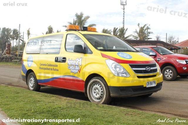 Donación Municipalidad de Ñuñoa (Isla de Pascua) - Hyundai H1 (CRBG76)