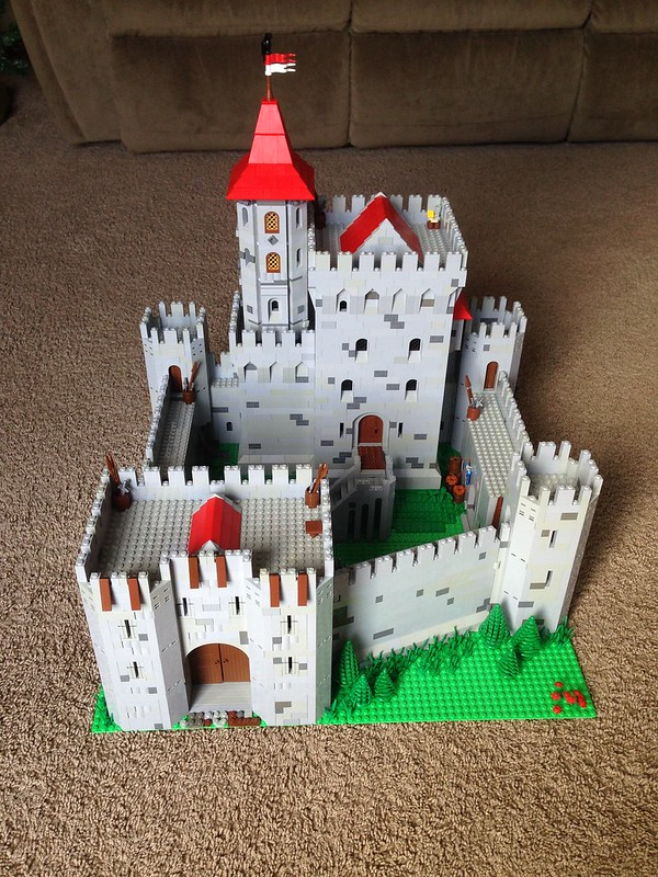 Lions Castle And Village MOC LEGO Historic Themes Eurobricks Forums