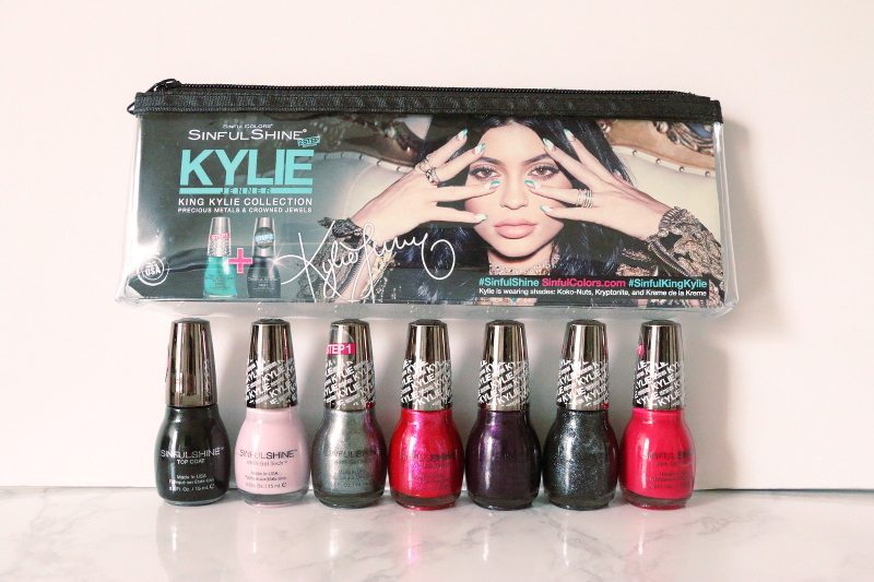 Kylie Jenner, King Kylie Collection, Sinful Colors Nail, SinfulShine