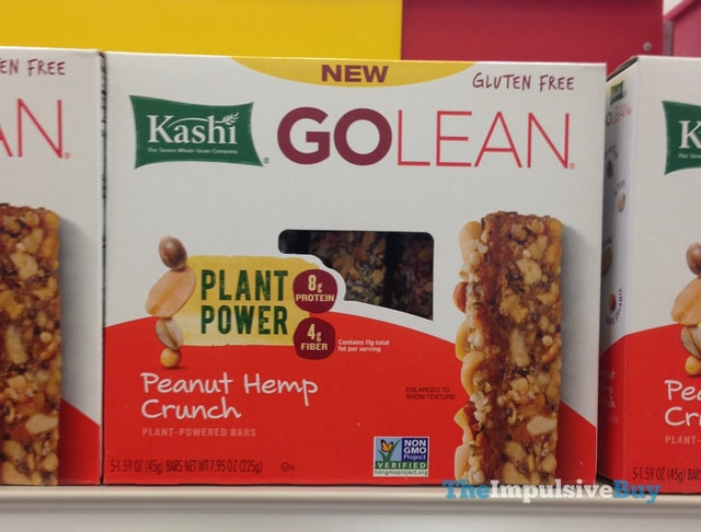 Kashi Go Lean Peanut Hemp Crunch Plant-Powered Bars