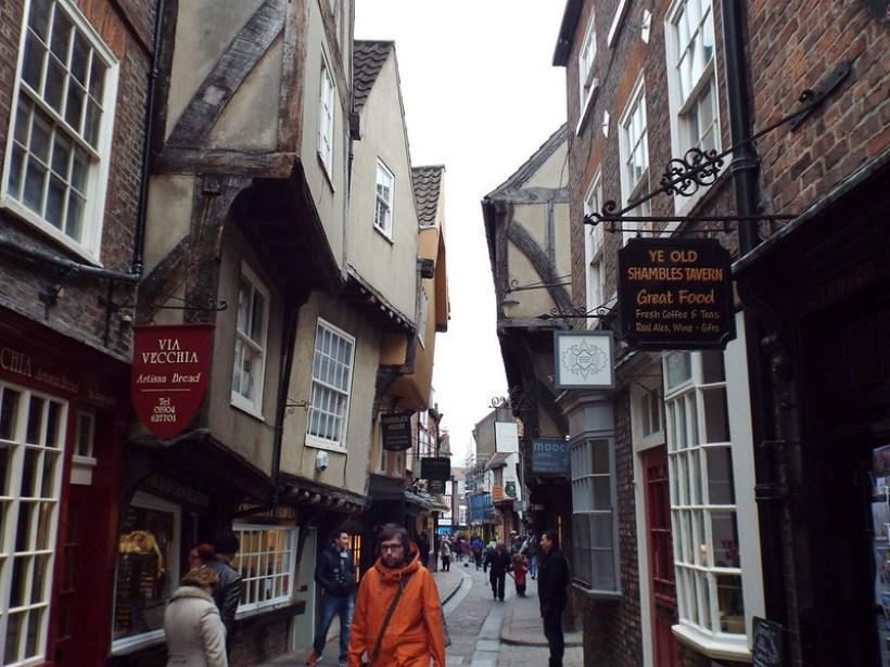 The Shambles, York - the tea break projeect solo female travel blog