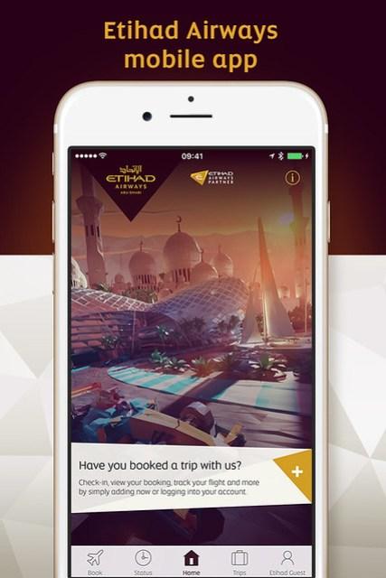 Etihad Airways Mobile App