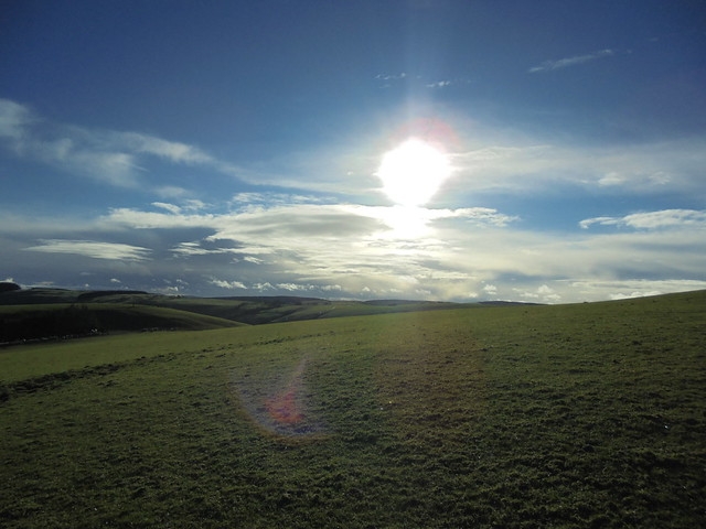 Yes, that's sun, in wales!