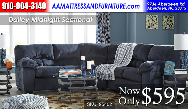 Dailey Midnight Sectional