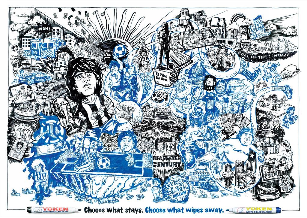 Yoken Marker - Maradona