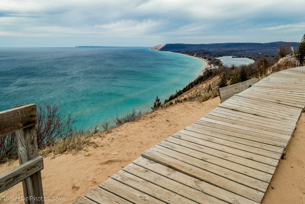 Empire Bluffs in Color