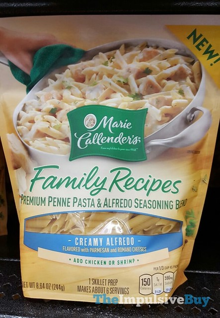 Marie Callender's Family Recipes Creamy Alfredo