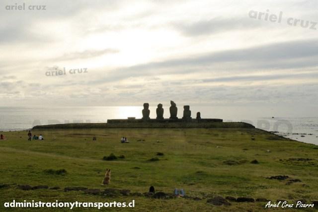 Ahu Tahai (Moai) - Isla de Pascua