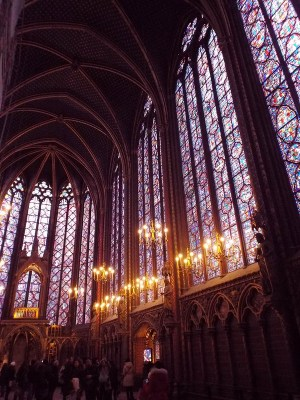 Paris Sainte Chapelle - the tea break project solo female travel blog
