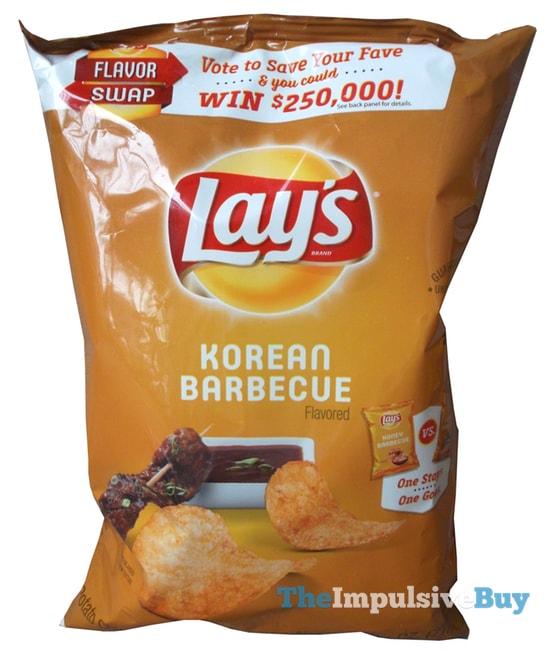 Lay's Korean Barbecue Potato Chips