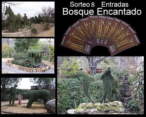 Sorteo 8 entradas Bosque Encantado Madrid
