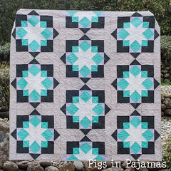 Midnight Mystery Quilt Completed!