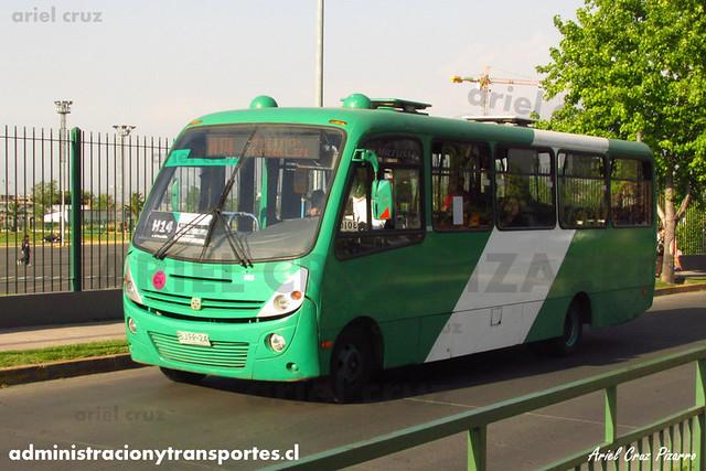 Transantiago - Buses Vule - Busscar Micruss / Mercedes Benz (BJFP24)