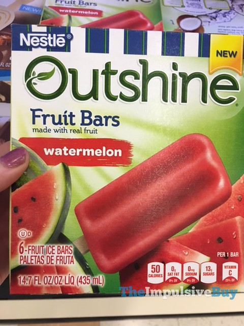 Nestle Outshine Watermelon Fruit Bars