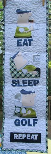 Eat. Sleep. Golf.