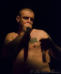 Matthew Young of King Parrot live in Belfast