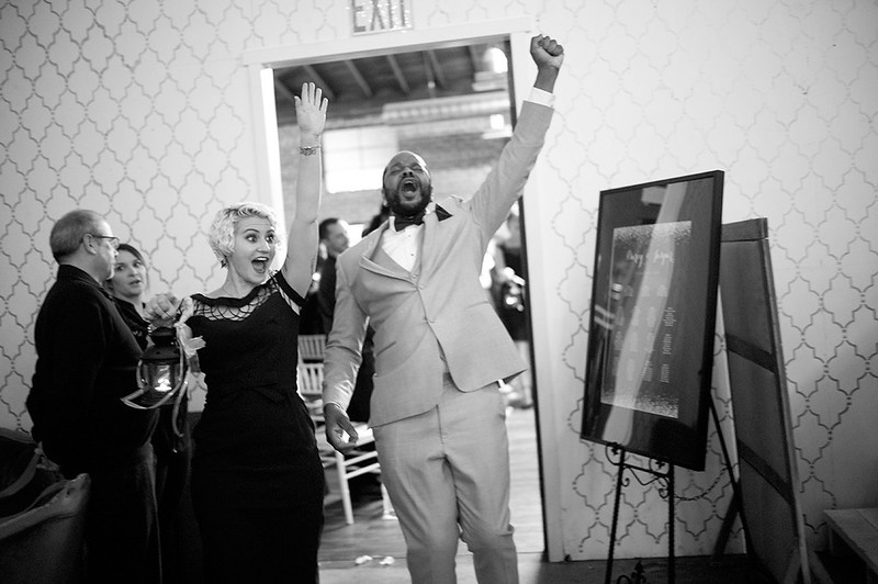A queer bourbon and beer bacchanal as seen on @offbeatbride
