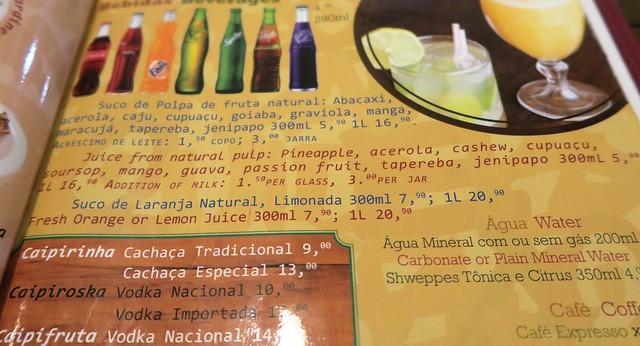 amazonas theater manaus drinks