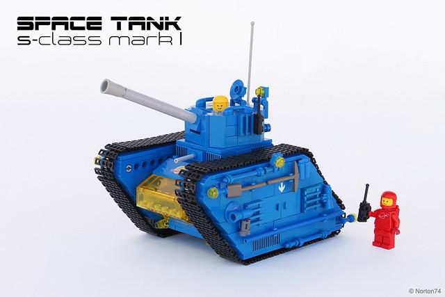 """Blue Bull"" | S-class Space Tank LEGO"