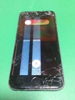 47_iPhone6のフロントパネル液晶割れ