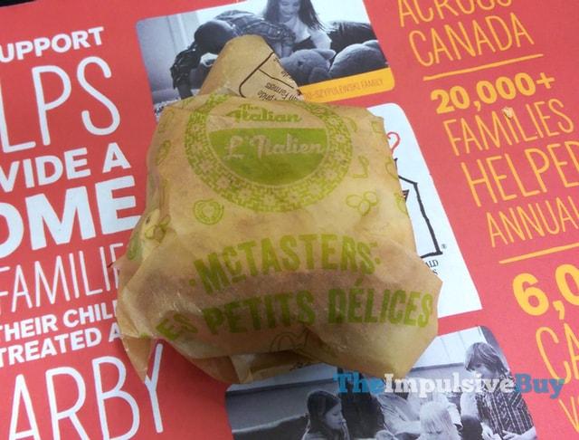 McDonald's Italian McTaster