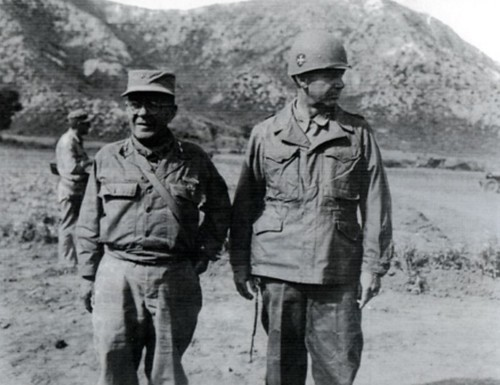 3rd Infantry Division Commander General Robert Soule On The Left Stands Next To 65th Regiment Lieutenant Colonel William Harris