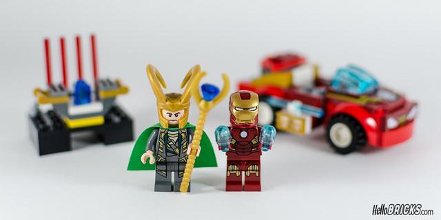 REVIEW LEGO 10721 Juniors Iron Man vs Loki