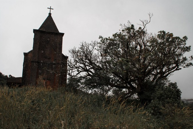 Kampot alte Kirche