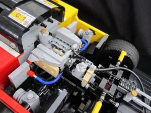 PORSCHE 962C : engine