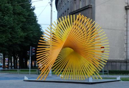 Letonia Esculturas en la calle 01