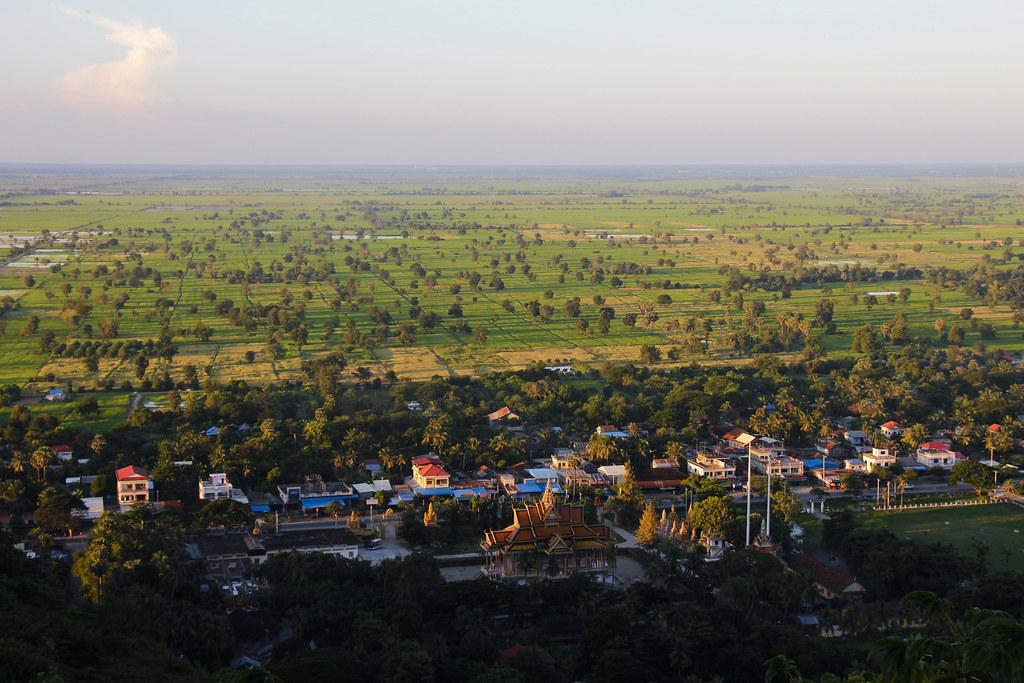 Smuk natur i Battambang