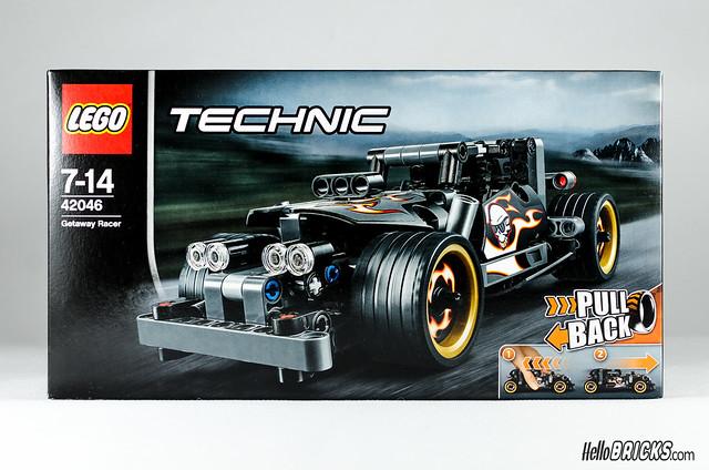 REVIEW LEGO Technic 42046 Getaway Racer (HelloBricks)