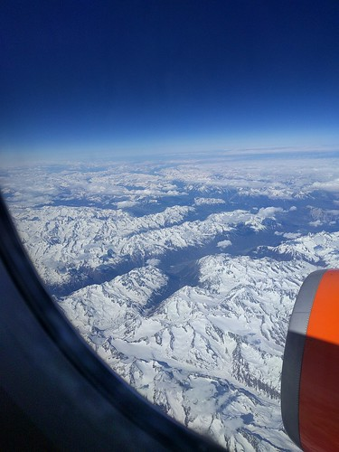 Glorious view of the Alps