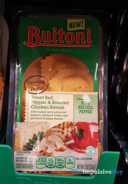 Buitoni Sweet Bell Pepper & Roasted Chicken Ravioli