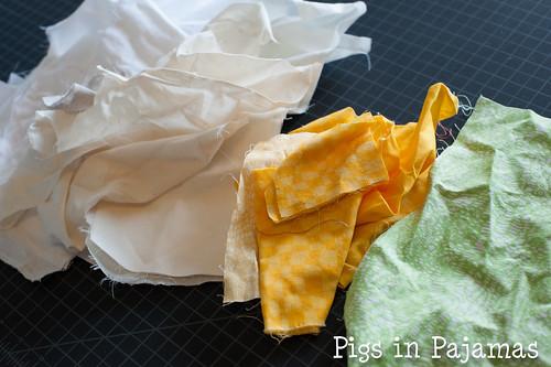 Improv quilting fabric
