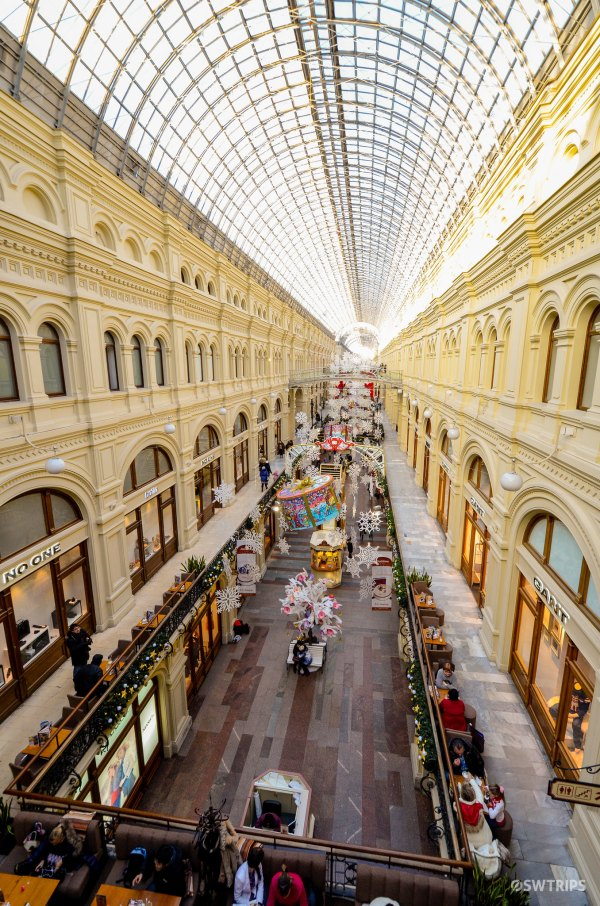GUM Mall, Moscow
